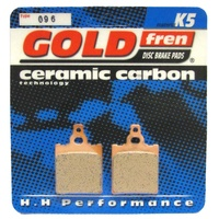 Goldfren K5 Racing pads - Model No 096 K5 - Aprilia / Cagiva / KTM