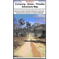 ROOFTOP MAPS - Corryong - Omeo - Thredbo Adventure Map