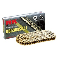 RK 530XSO RX Ring Chain - 120 Link - GOLD - Model No - 12-53X-120GD
