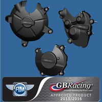 GBRacing Engine Case Cover Set - KAWASAKI ZX6R 09-13