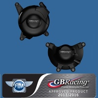 GBRacing Engine Case Cover Set for BUELL EBR 1190RX 14-15 & 1125R / CR 08-09 models only