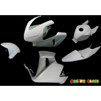 Doctor Glass Fairing Kit - Honda CBR600 03-04