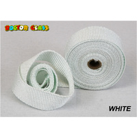 Doctor Glass - Exhaust Header Wrap - WHITE
