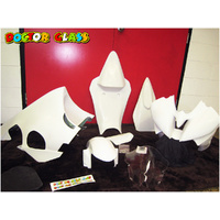 Doctor Glass Fairing Kit - Yamaha R6 08-16