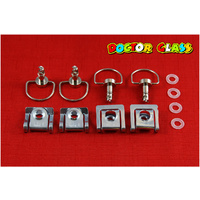 D RING CLIP DZUS FASTENERS X 4 KIT