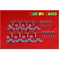 D RING RIVET DZUS FASTENERS X 8 KIT