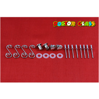 FLUSH MOUNT DZUS FASTENERS X 4 KIT