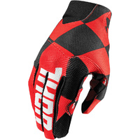 THOR VOID PLUS - Mens CHEX RED Gloves - MX / ATV