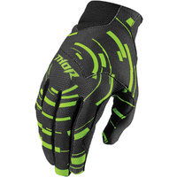 THOR VOID PLUS - Mens & Youth CIRCULUS FLO GREEN Gloves - MX / ATV