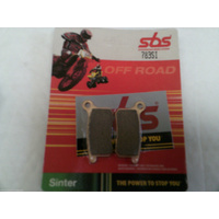 SBS SI Brake Pads - Model No 783SI - Husqvarna CR65 / KTM SX65